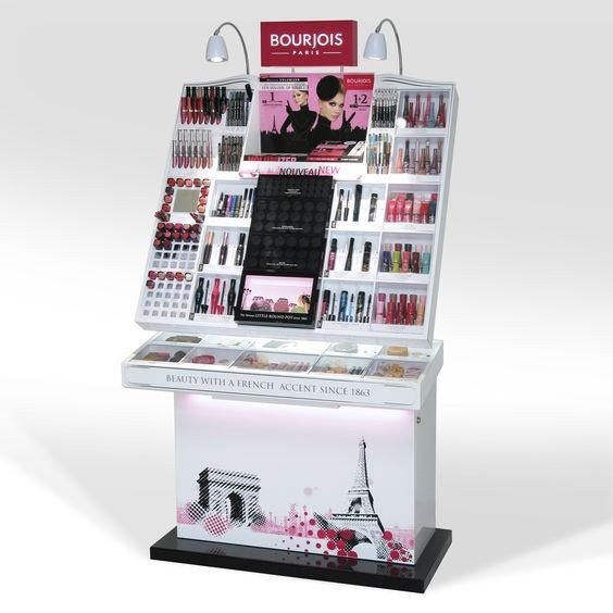 Cosmetic display white