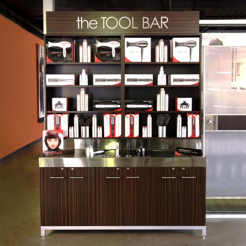 Display and retail your pro tools
